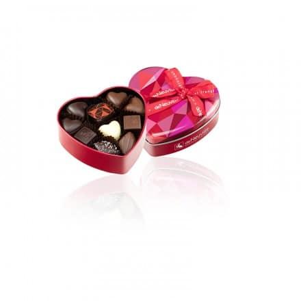 boite coeur chocolats