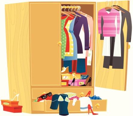 le boom du vide dressing en ligne mademoiselle blog. Black Bedroom Furniture Sets. Home Design Ideas