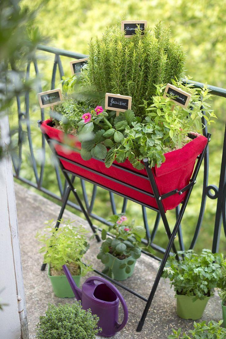 Conseils jardinage potager balcon jardiner balcon - Jardiner sur son balcon ...