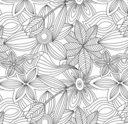coloriage motif geotmetrique