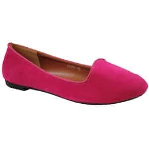 slippers fuschia
