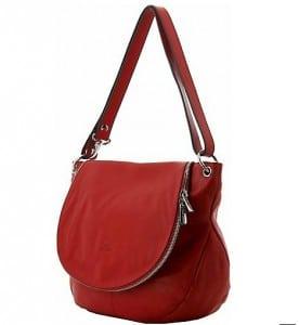 sac-cuir-rouge