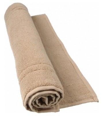 tapis de bain beige