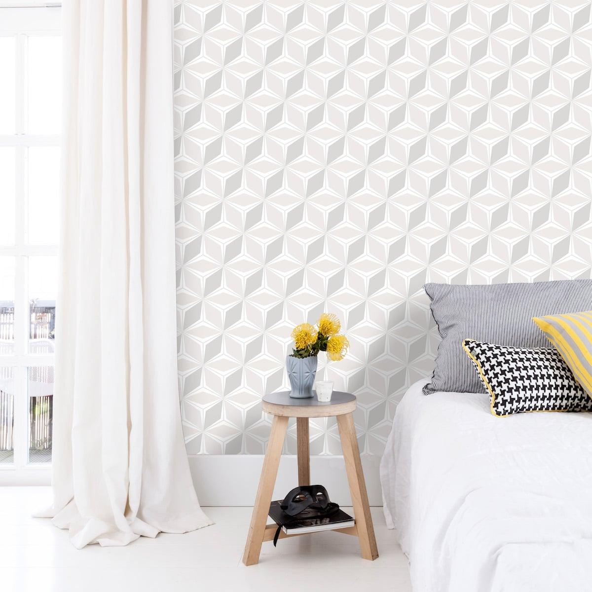 papier-peint-geometrique-home-sweet-home